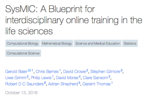 SysMIC__A_Blueprint_for_interdisciplinary_online_training_in_the_life_sciences__PeerJ_Preprints_