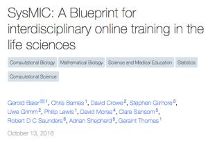 SysMIC__A_Blueprint_for_interdisciplinary_online_training_in_the_life_sciences__PeerJ_Preprints_
